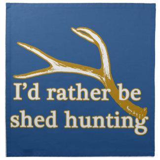 Seien Sie eher verschüttete Jagd Serviette
