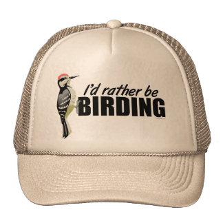 Seien Sie eher Vogelbeobachtung Retromütze