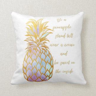 Seien Sie ein Ananas-Wurfs-Kissen Kissen