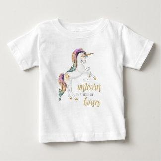 Seien Sie ein Einhorn-T-Shirt Baby T-shirt