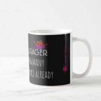 Seien Sie ein encourager ...... Kaffeetasse
