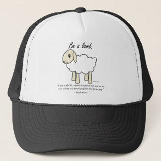 """""""Seien Sie ein Lamm-"""" Hut Truckerkappe"""