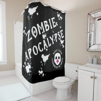 Seien Sie ein untoter Prüfer für die Duschvorhang
