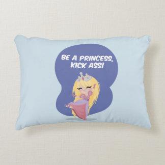 Seien Sie eine Prinzessin, Tritt-Esel! - Kissen Deko Kissen