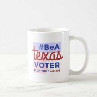 Seien Sie eine Texas-Wähler-Kaffee-Tasse Kaffeetasse