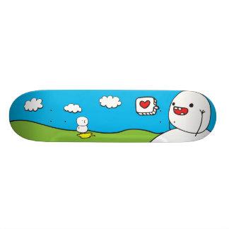 Seien Sie einfach Freunde Skate Board