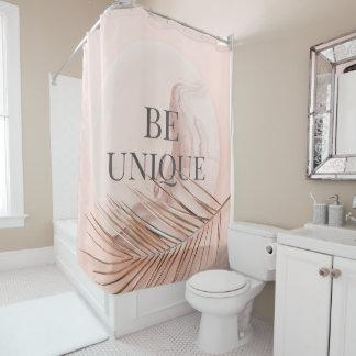 SEIEN Sie Einzigartig-Luxus Rosen-GoldTrendy Duschvorhang