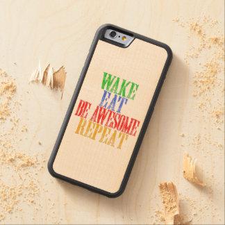Seien Sie fantastisch! Bumper iPhone 6 Hülle Ahorn