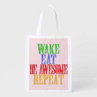 Seien Sie fantastisch! Wiederverwendbare Einkaufstasche