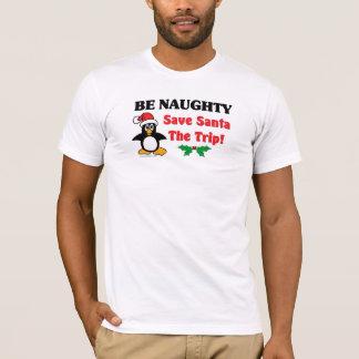 Seien Sie frech! Retten Sie Sankt die Reise! T-Shirt