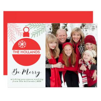 Seien Sie frohe Weihnacht-Karten   CHSRITMAS Karte