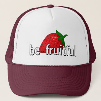 Seien Sie… fruchtbar Truckerkappe