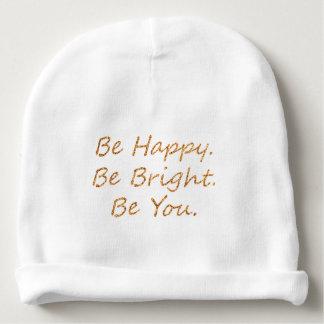 Seien Sie glücklich Babymütze
