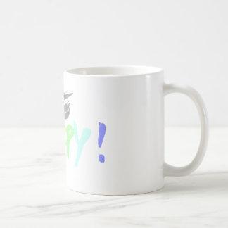 Seien Sie glücklich! Kaffeetasse