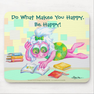Seien Sie glücklich! Mousepads