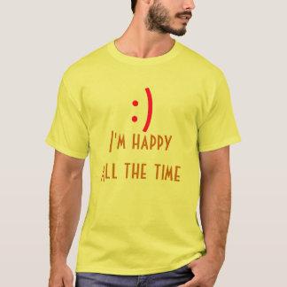 Seien Sie glücklich T-Shirt