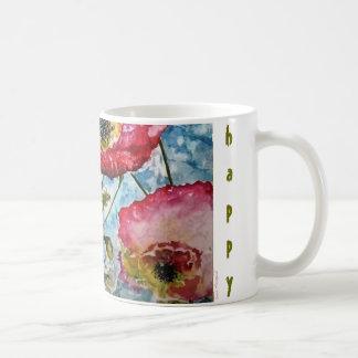 Seien Sie glückliche Kaffeetasse