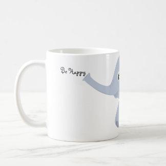 Seien Sie glückliche kleine Elefant-Tasse Tasse