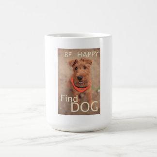 Seien Sie glücklicher Entdeckungs-Hund - Penny Tasse