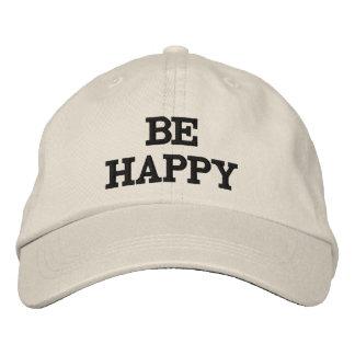 seien Sie glücklicher Hut Baseballcap