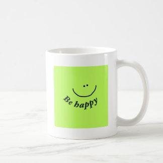 """'Seien Sie glücklicher"""" Smiley Teetassen"""