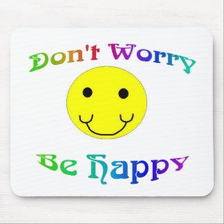Seien Sie glückliches besonders angefertigtes Mauspad