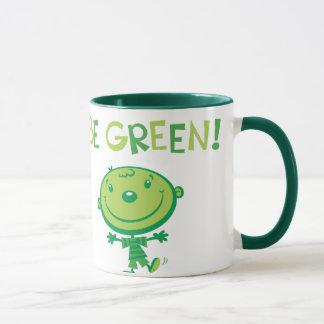 Seien Sie grün! TASSE