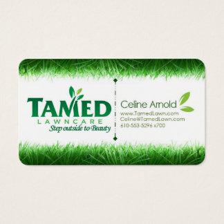 Seien Sie grün Visitenkarte