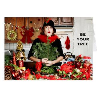 """""""Seien Sie Ihr Baum """" Karte"""