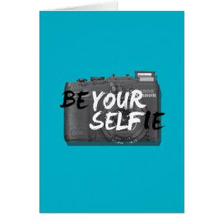 seien Sie Ihr selfie Karte