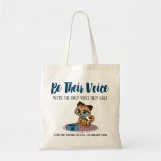 SEIEN Sie IHRE Stimme-Tier Rettung Projekt-Katzen Tragetasche