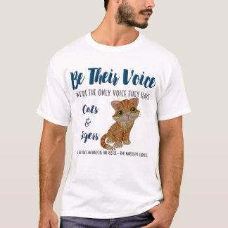 SEIEN Sie IHRE Stimme-Tier Rettungs-Projekt-Katzen T-Shirt