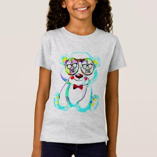 seien Sie intelligente Gläser Teddybärn-T - T-Shirt