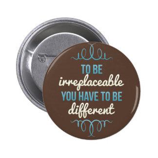 Seien Sie ist verschiedenes blaues Brown unersetzl Buttons