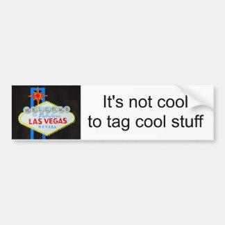Seien Sie kühle Protest-Graffiti auf Las Vegas-Zei Auto Sticker