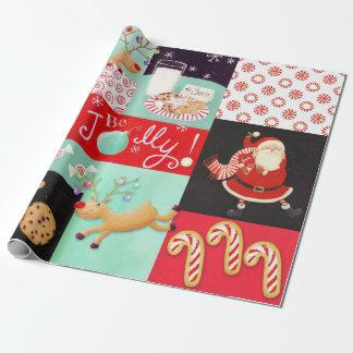 Seien Sie lustig! WeihnachtsPackpapier Geschenkpapier