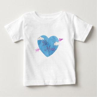Seien Sie meine blaues Herz Baby T-shirt
