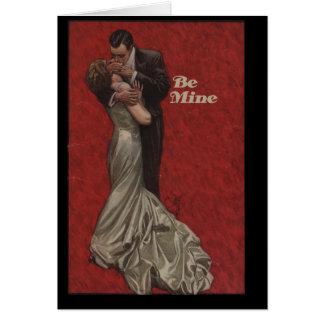Seien Sie meine für Valentinstag Karte
