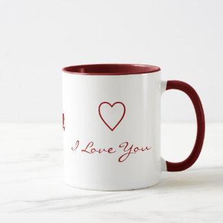 Seien Sie meine Valentine-Tasse Tasse