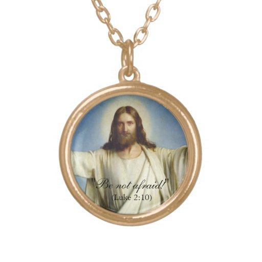 """""""Seien Sie nicht ängstlich"""" kundenspezifische Hals Personalisierte Halskette"""