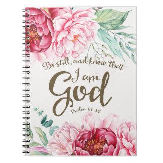 Seien Sie noch Notizbuch Spiral Notizblock