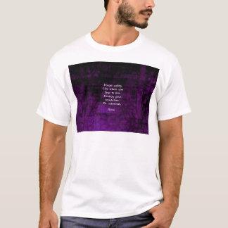 Seien Sie notorisches Rumi inspirierend Zitat T-Shirt