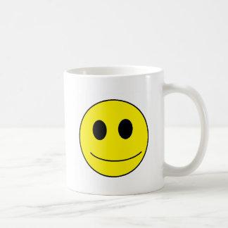 Seien Sie smiley, seien Sie glücklich Tasse