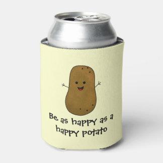 Seien Sie so glücklich wie eine glückliche Dosenkühler