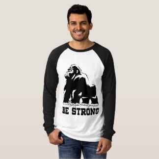 SEIEN SIE STARKER GORILLA T-Shirt