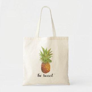 Seien Sie süße Ananas-Tasche Tragetasche