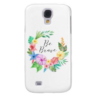 Seien Sie tapferer Mobiltelefon-Fall Samsung S4 Galaxy S4 Hülle