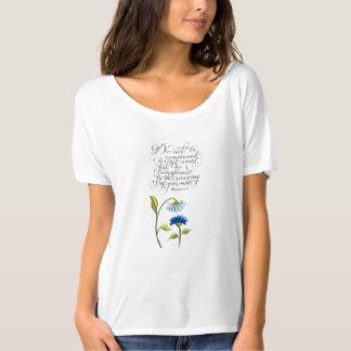 Seien Sie umgewandelte inspirierend T-Shirt