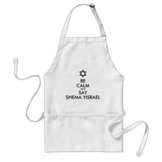 Seien Sie und Shema Yisrael zu sagen ruhig Schürze
