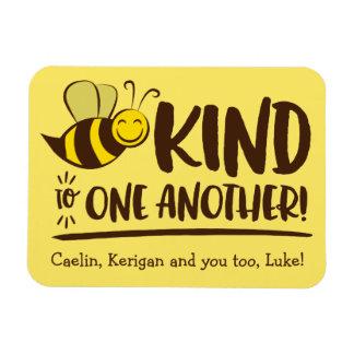 Seien Sie zu gegenseitig Bienen-Magnet nett Magnet